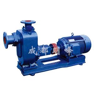 ZX系列型泵是卧式自吸离心泵